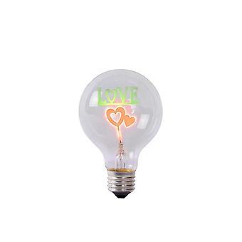 Lucide LED Bulb Shape: Bulb Glass Transparant LED Bulb