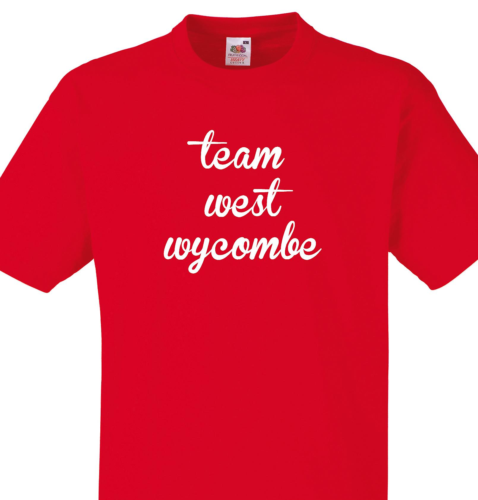 Team West wycombe Red T shirt