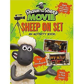 Shaun fåren filmen - fåren på Set aktivitetsbok