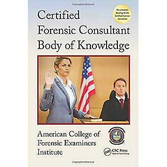 Zertifizierte forensische Beraterin Body of Knowledge (Center for National Threat Assessment)