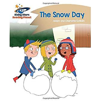 Lezing planeet - de dag van de sneeuw - goud: Komeet Street Kids (Rising Stars planeet lezen)