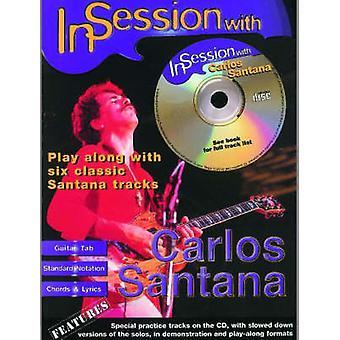 I Session med Carlos Santana - (gitarr fliken) av Carlos Santana - 9780