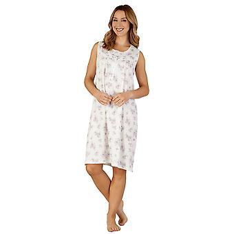 Slenderella ND3105 Frauen Baumwoll Jersey Night Gown Loungewear Nachthemd