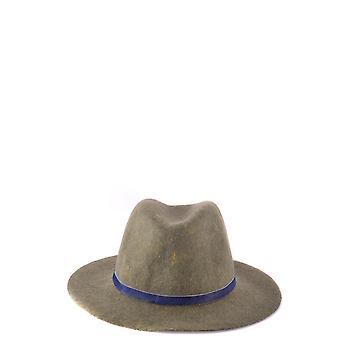 Jacob Cohen Green Wool Hat
