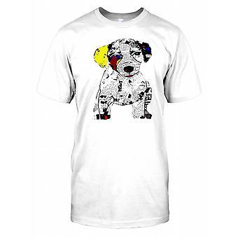 Jack Russell Pop Art para hombre T Shirt