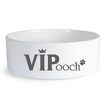 VIPooch Small Ceramic Dog Bowl