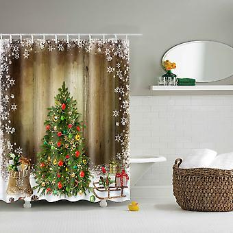 Dusche Vorhang-Weihnachtsbaum