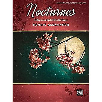 Nocturnes - Bk 2 - 6 Romantic-Style Solos for Piano - 9781470639624 Bo