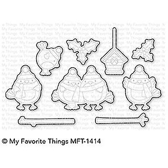 My Favorite Things Tweet Holidays Die-Namics (MFT-1414)