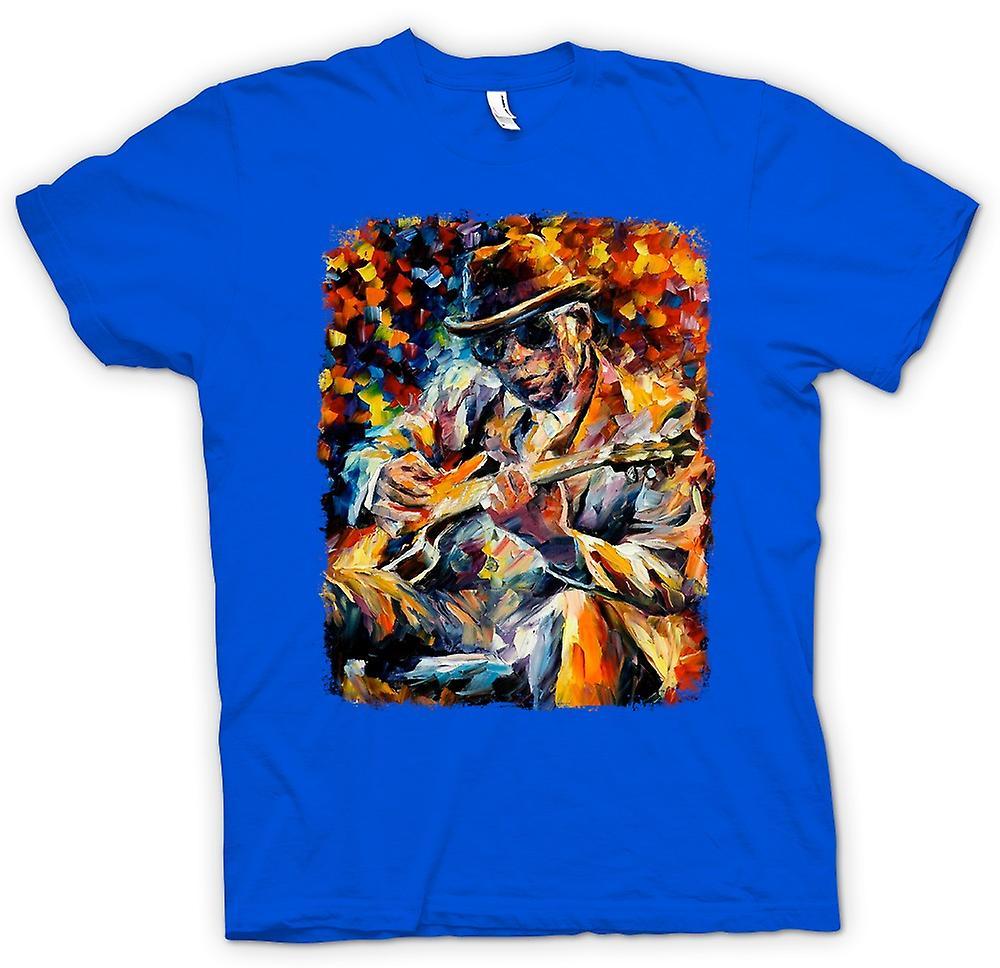 Mens T-shirt - John Lee Hooker - Blues - Ölgemälde