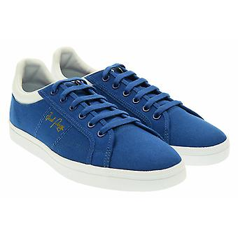 Sidespin toile formateurs B8244-955 Fred Perry hommes