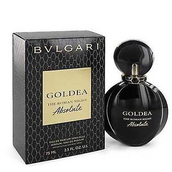 Bvlgari Goldea Die römische Nacht Absolute Von Bvlgari Eau De Parfum Spray 2,5 Oz (Frauen) V728-545286