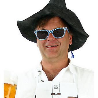 Brille Bavaria Oktoberfest Accessoire Bierfest Bayern