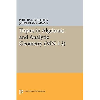Topics in Algebraic and Analytic Geometry (MN-13) (Mathematical Notes)