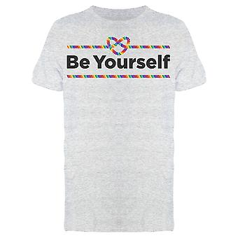Be Yourself Ribbon Tee Men-apos;s -Image par Shutterstock