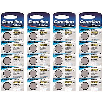 Camelion Lithium Batterie CR2032 20-Pack