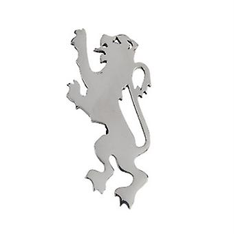 Chrome Lion Rampant Kilt Pin (KP65P CB)