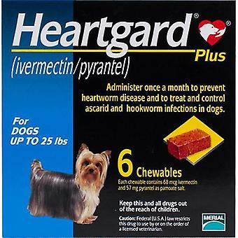 Heartgard Plus For Dogs Under 11 kg - 6 Chewables