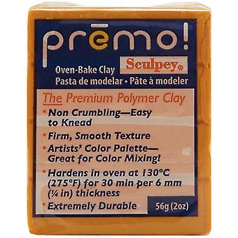 Premo Sculpey Polymer Clay 2 Ounces Orange Pe02 5033