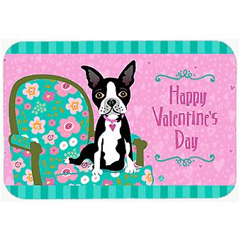 Happy Valentinstag Boston Terrier Mouse Pad, Hot-Pad oder Untersetzer VHA3001MP
