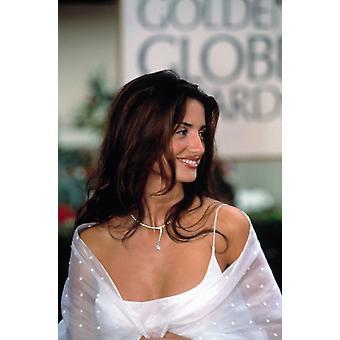 Penelope Cruz på Golden Globe Awards januar 2000 fotoutskrift
