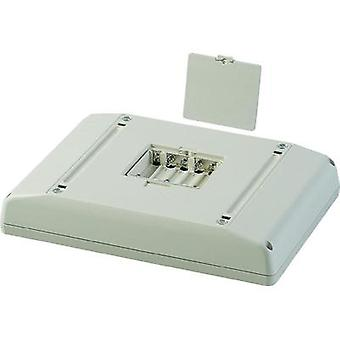 OKW Interface Terminal D4046137 Multifunction Electronic Enclosure, Off-White RAL 9002, 196 x 276 x 49 mm