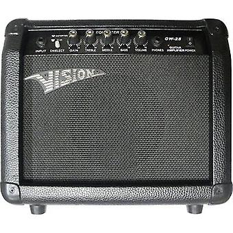 Electric guitar amplifier Vision Guitar GW25 Black