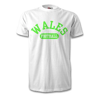T-shirt calcio Galles