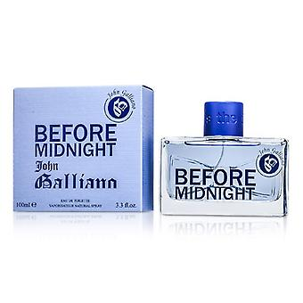 John Galliano Before Midnight Eau De Toilette Spray 100ml/3.3oz