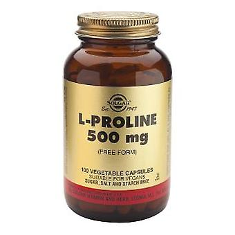 Solgar L-Proline 500 mg 100 Vegetable Capsules