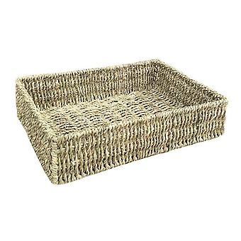 Small Rectangular Seagrass Tray