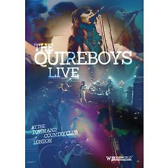 Quireboys - Live på by & Country Club [DVD] USA importen