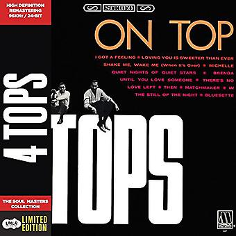 Four Tops - på toppen [CD] USA importerer
