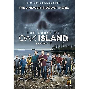 Förbannelse i Oak Island: säsong 2 [DVD] USA import