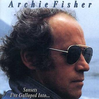 Archie Fisher - Sunsets I'Ve Galloped Into [CD] USA import