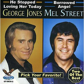 Jones/Street - George Jones & Mel Street [CD] USA import
