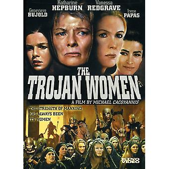 Trojan kvinnor [DVD] USA import