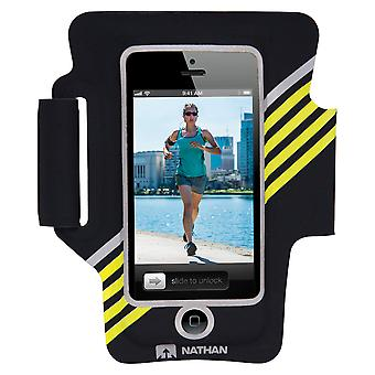 Nathan SuperSonic 2 Armband für iPhone 5 Black-Yellow 4922NBYT