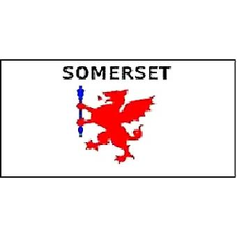 Somerset Flag 5ft x 3ft With Eyelets For Hanging