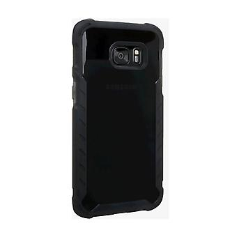 Verizon Matte Silicone Case for Samsung Galaxy S7 Edge - Black