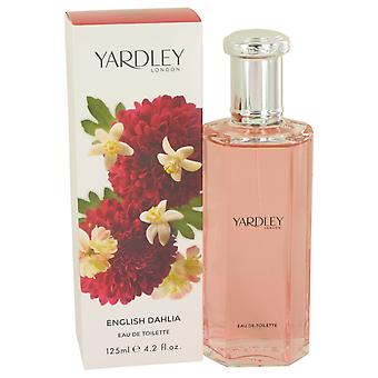 Yardley English Dahlia Eau de Toilette 125ml EDT Spray