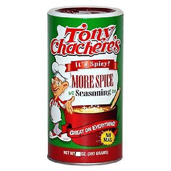 Tony Chachere's More Spice Seasoning