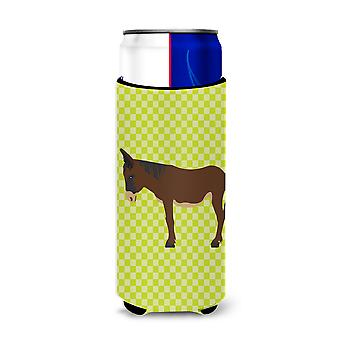 Zamorano-Leones Donkey Green Michelob Ultra Hugger for slim cans