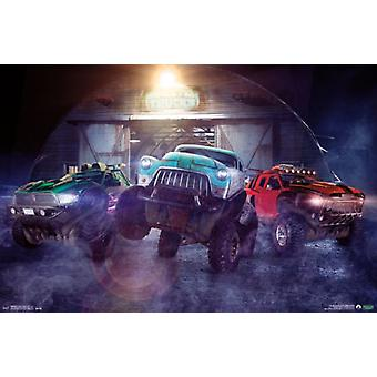 Monster Trucks - Monster Inside Poster Poster Print
