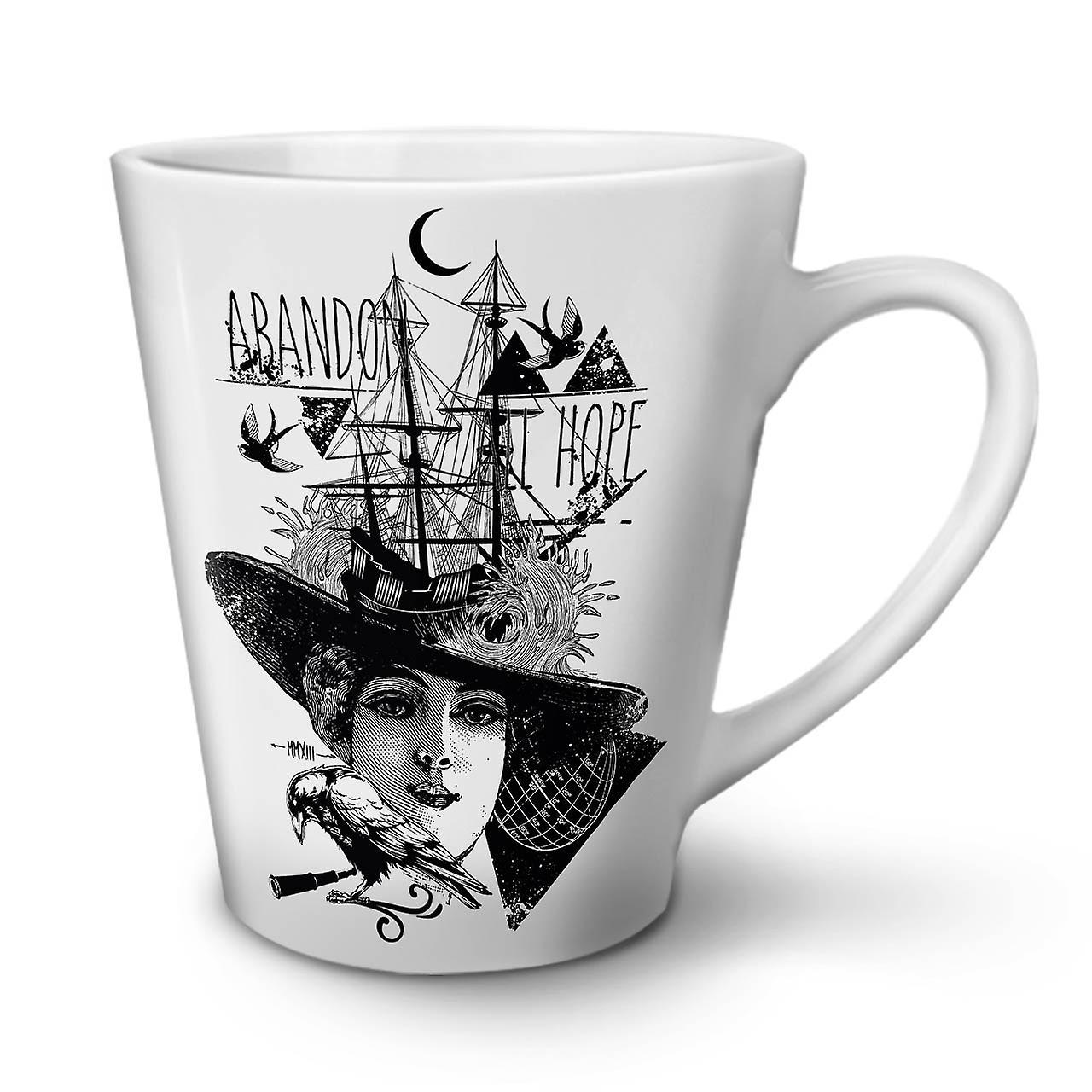 Abandonner Mug En Tout OzWellcoda Thé Blanc 12 Espoir Nouveau Céramique Latte Café pSUVqMz