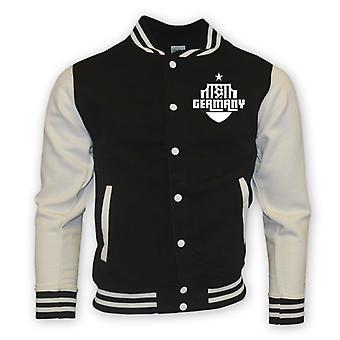 Tyskland College Baseball jakke (svart)