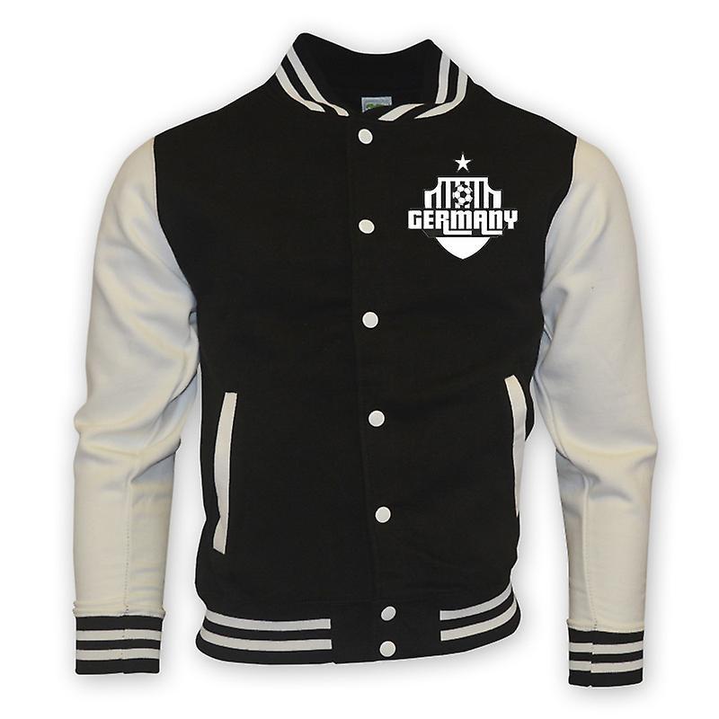 Allemagne College Baseball Jacket (noir)