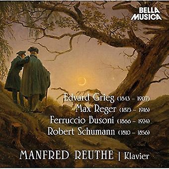 Schumann / Reuthe - Manfred Reuthe [CD] USA import
