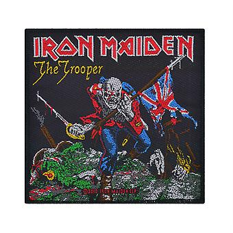 Iron Maiden The Trooper Woven Patch