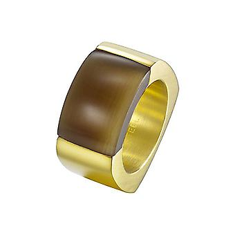 Joop women's ring stainless steel gold MARVELOUS JPRG10614B1